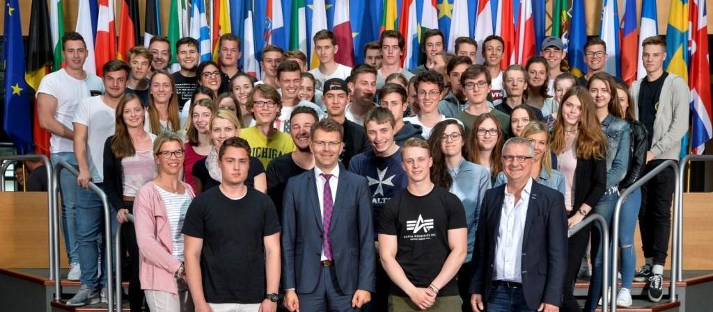 Europa hautnah – Die HLA zu Besuch im Europäischen Parlament