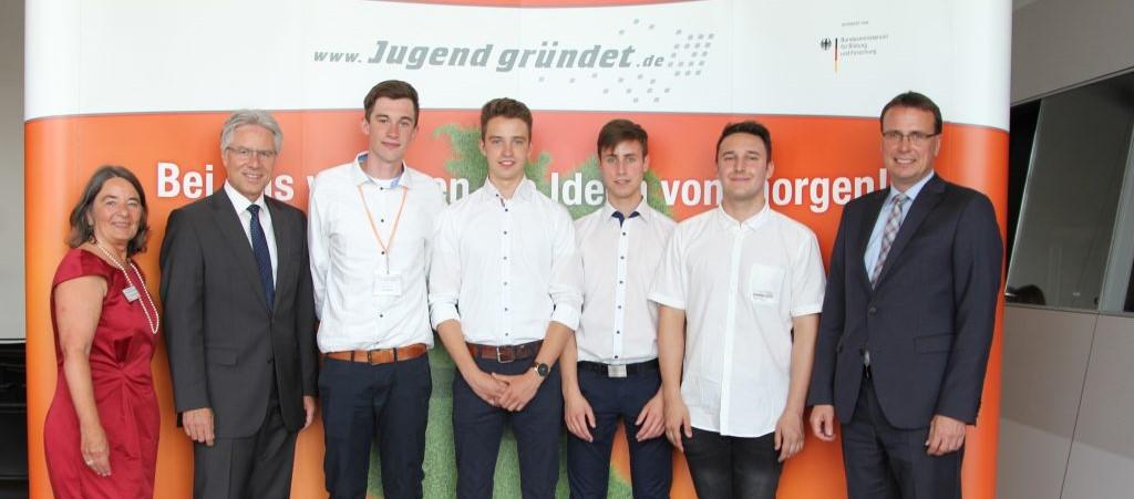 Party Safe GmbH beim Jugend gründet Finale 2017 in Stuttgart